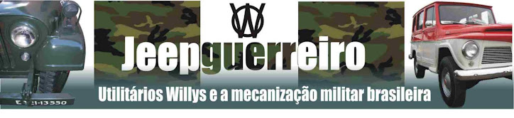 Jeep Guerreiro - Utilitários Willys e a mecanização militar brasileira
