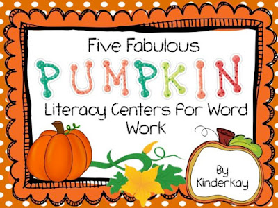 https://www.teacherspayteachers.com/Product/Five-Fabulous-PUMPKIN-Literacy-Centers-for-Word-Work-776294