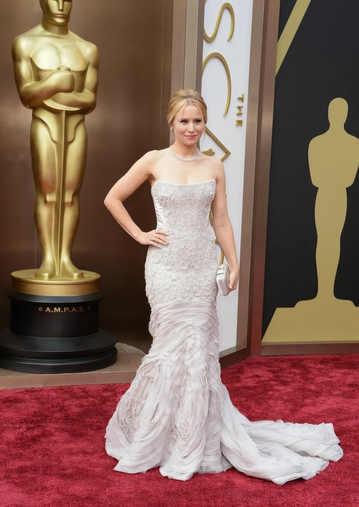 Kristen Bell in Cavalli at the Oscars