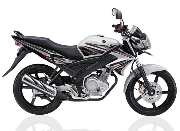Coincide with the launch of the yamaha Vixion white color as well as