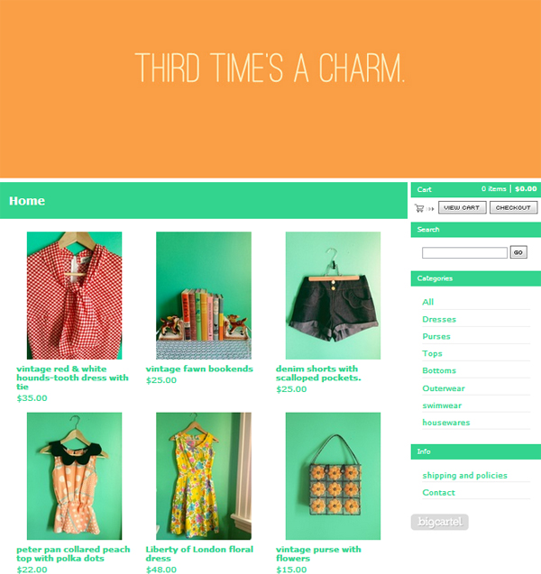 oh so lovely vintage shop my closet now open