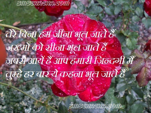 Shayari Hindi Romantic Love Sms Hindi Love Shayari Sms Hindi
