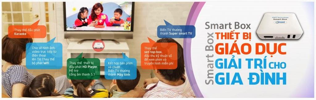 Smartbox VNPT - Xem Truyền Hình HD miễn phí