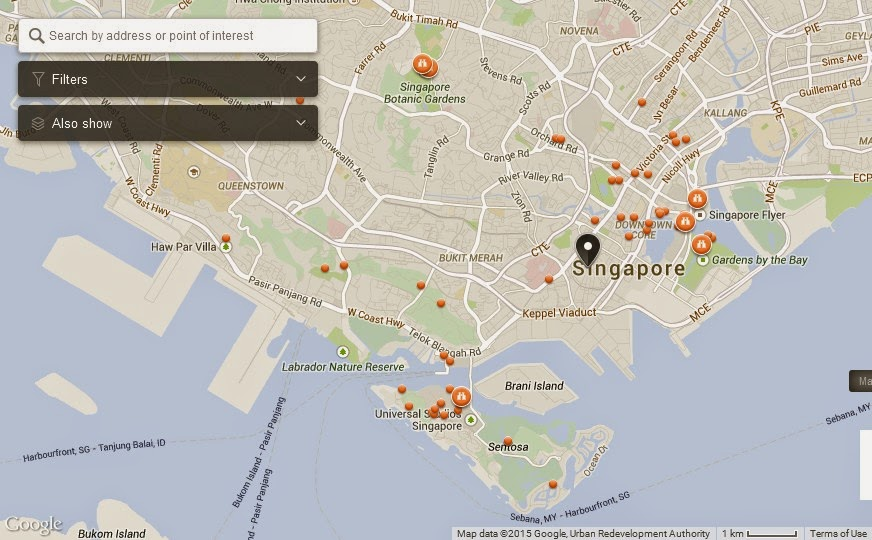 NUA Singapore Map,Map of NUA Singapore,Tourist Attractions in Singapore,Things to do in Singapore,NUA Singapore accommodation destinations attractions hotels map reviews photos pictures
