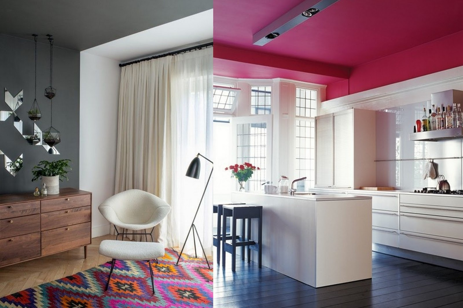Casaenco kleur in je interieur - Hoe roze verf ...