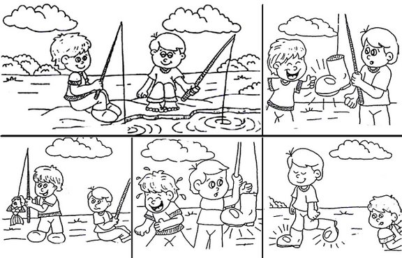 Secuencia de imagenes para crear cuentos infantiles - Imagui