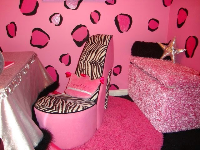 pink zebra room decorating ideas