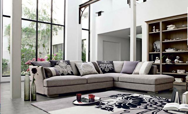 d coration 100 zen canap s by roche bobois. Black Bedroom Furniture Sets. Home Design Ideas
