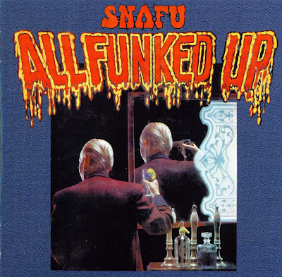 Snafu - All Funked Up (1975 uk heavy classic rock blended funk & country - wave)