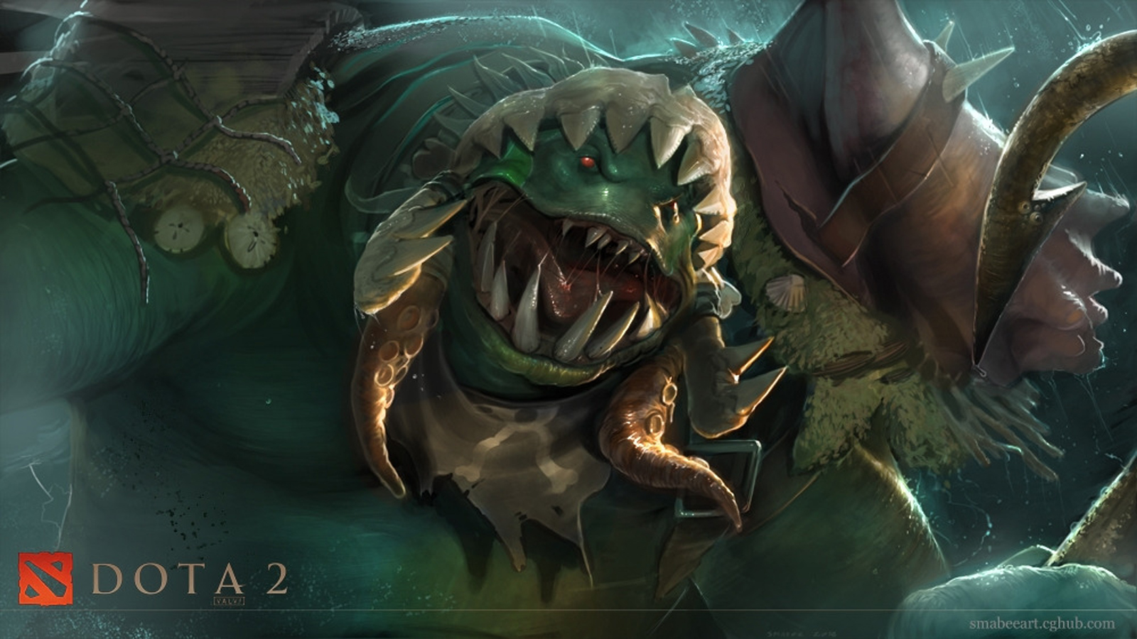 Dota 2 Tidehunter 6z HD Wallpaper
