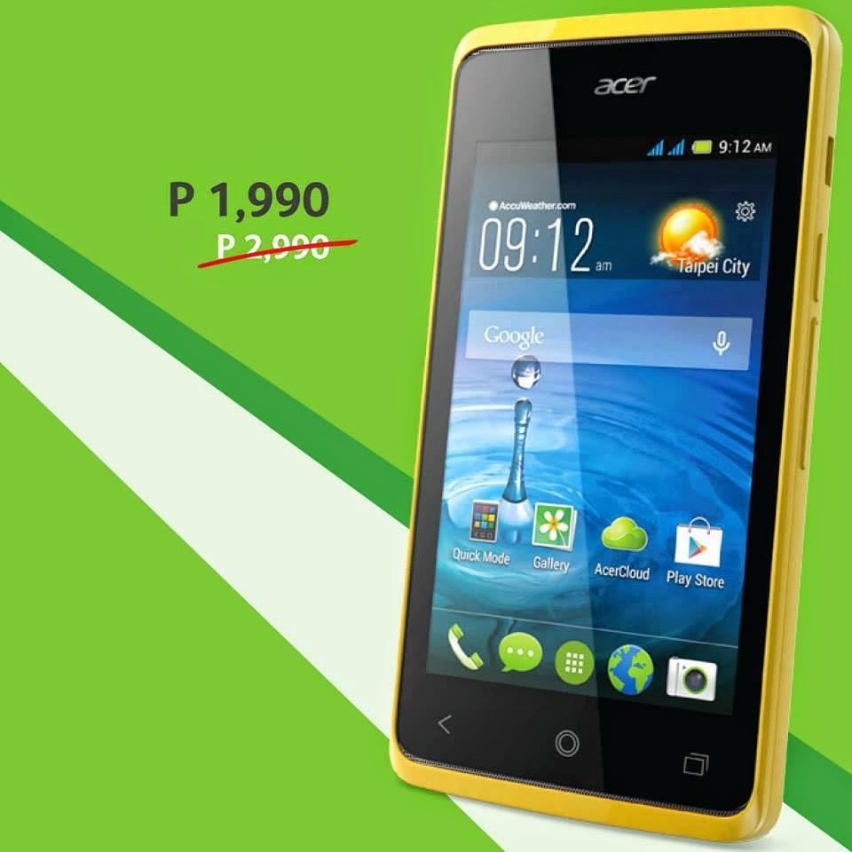 Acer Philippines Smartphones, Acer Liquid Z200