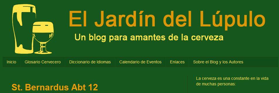 Relatos para todos blog recomendado el jard n del l pulo for El jardin del lupulo