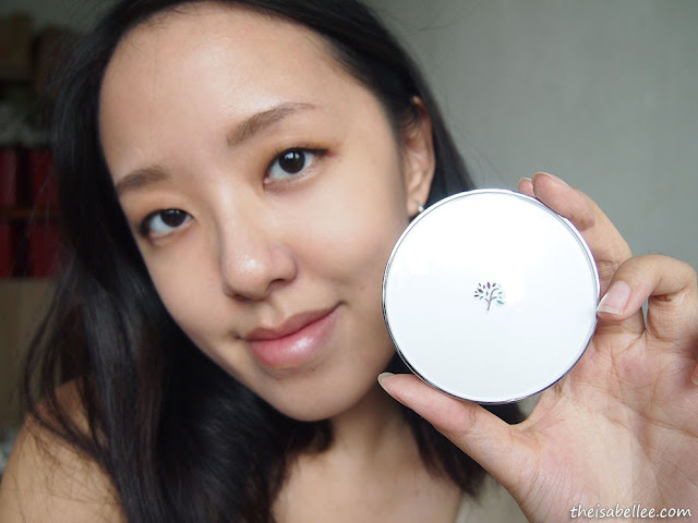 The Face Shop Oil Control Water Cushion blog review
