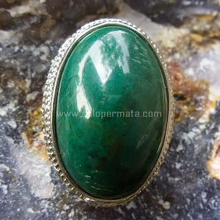 Cincin Batu Bacan Chrysocolla - SP584