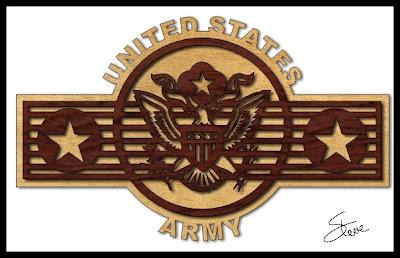 Free army scroll saw patterns