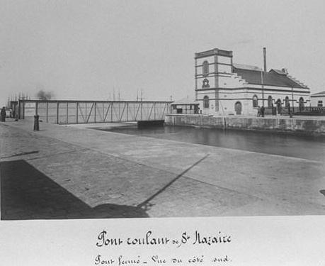 Saint nazaire la ville d 39 antan st nazaire pont roulant du for Piscine st nazaire