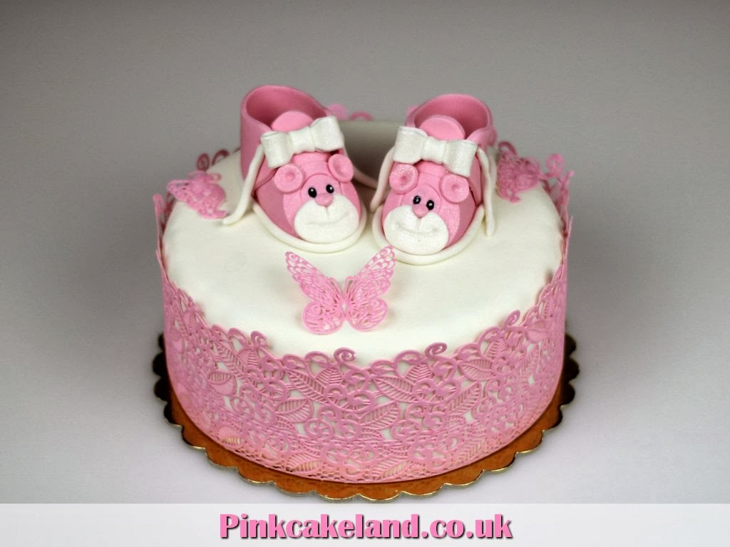 Christening Cake for Baby Girl in London