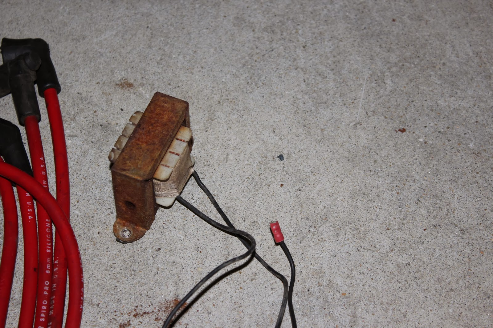 1971 Saab Sonett Iii Restoration Wiring Wire Harness Labeled Random Transformer That Was Wired In Parallel With The Distributor It Seems Dingus