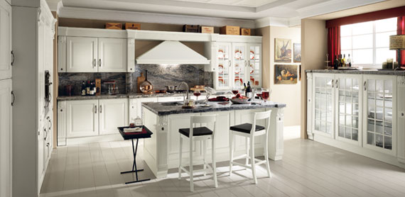 Cocinas country por scavolini ideas para decorar for Cocinas country