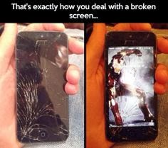 BEST WALLPAPER FOR YOUR BROKEN SCREENED PHONE