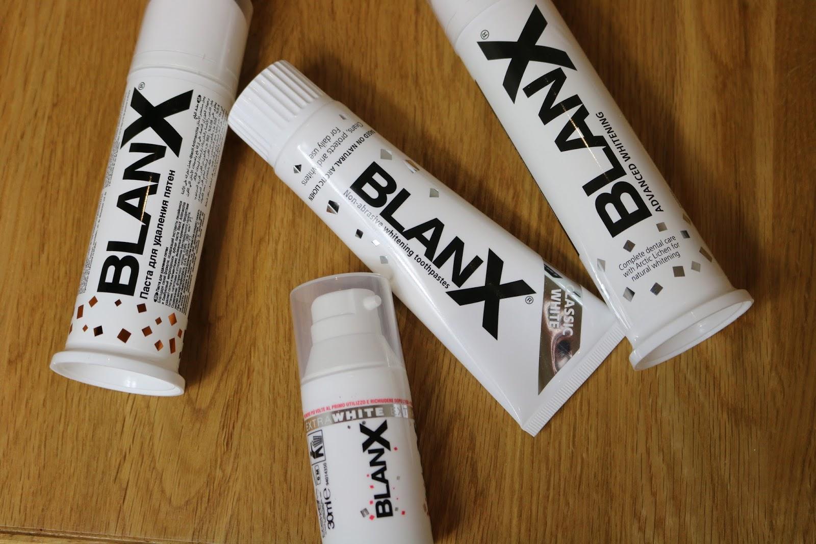 Blanx teeth whitening
