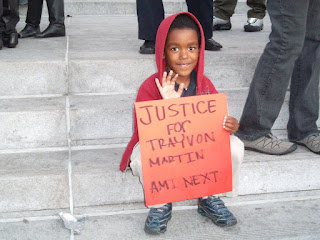 ... of L.A. City Hall on March 26th following the Trayvon Martin march