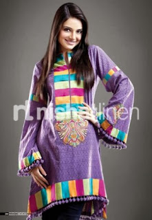 Nishat Linen Short Frock