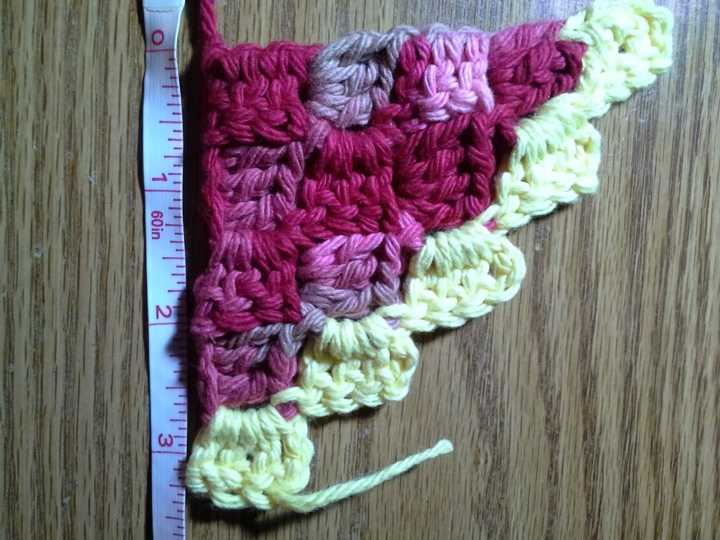 How to make increase and decrease crochet