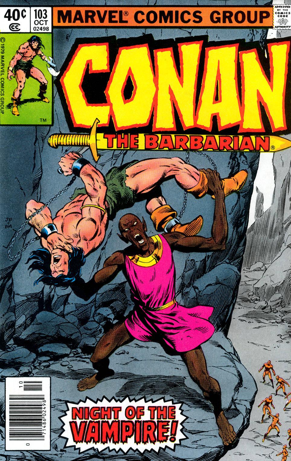 Conan the Barbarian (1970) Issue #103 #115 - English 1
