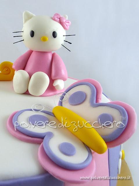 torta hello kitty polvere di zucchero