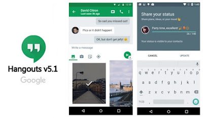 Google Hangouts Got Updated to New V6.0.1..(480dpi) : Know New Features and Download APK