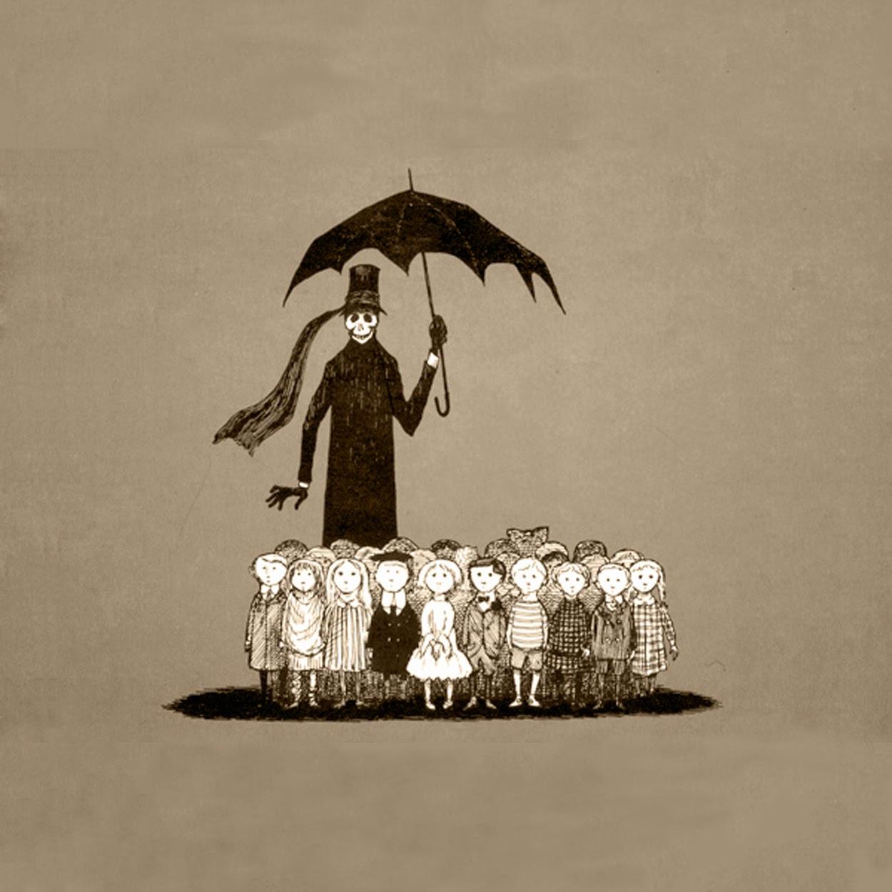 Eneteia, Bracia Grimm i siostra Śmierć, Baśnie o śmierci, Baśnie o umieraniu, opieka paliatywna, śmiertelna Koszula, Człowiek i śmierć, Kuma Śmierć, Księżyc baśń, O wędrowaniu, Mateusz Świstak, Baśnie na warsztacie, GOrey