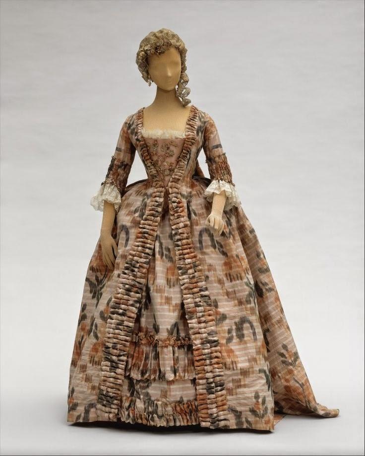 costume adoratia 18th century fashion dress before and