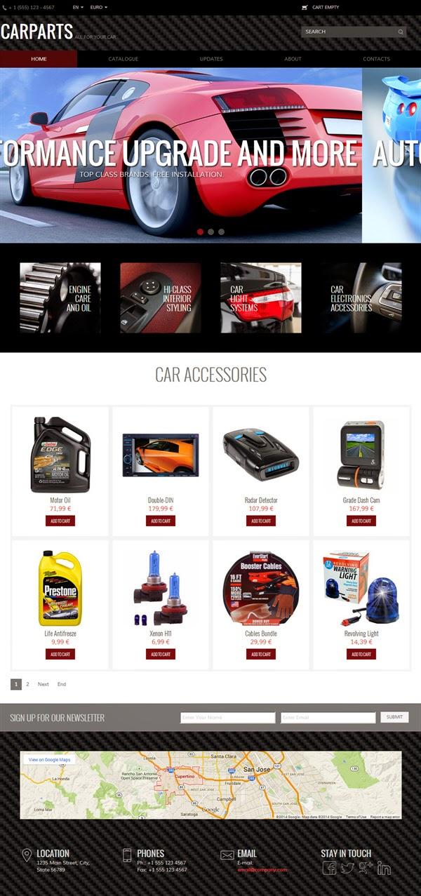 CarParts - Free Virtuemart Template