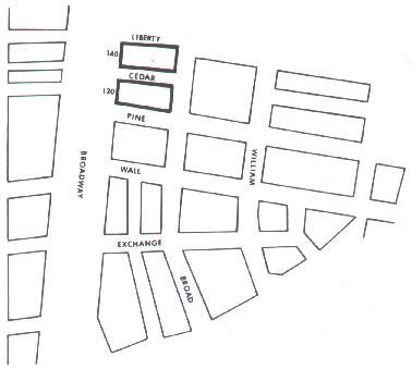 wall street map
