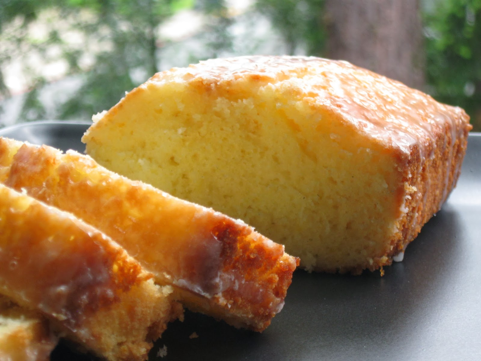 how to make lemon glaze for pound cake