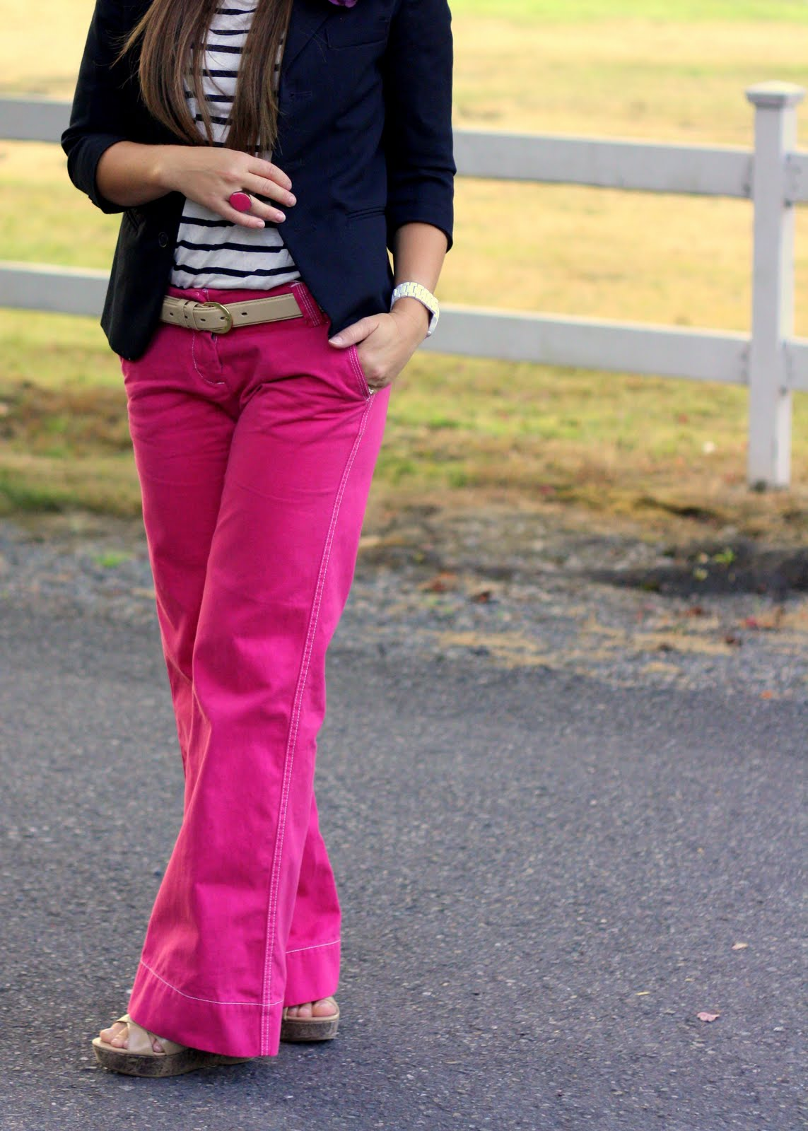 How to coloured wear pants