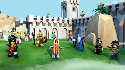 платная модель игры LEGO минифигурки