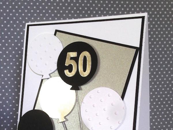 50th Silver Balloons