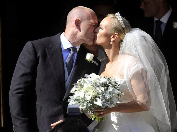 Królewskie Śluby - Zara Philips i Mike Tindall.