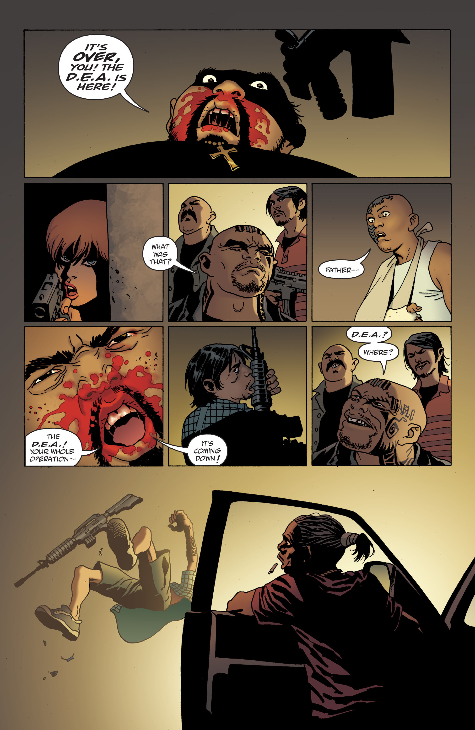 100 Bullets: Brother Lono Full Page 135