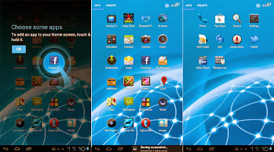SKK Mobile Phoenix Tab 4 Default Apps