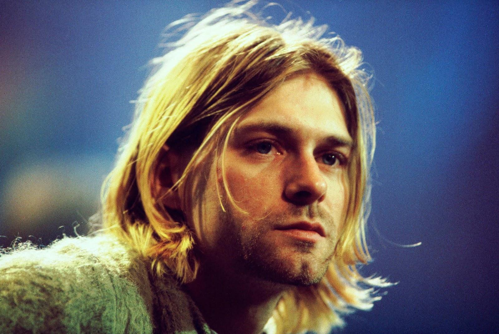 Kurt Cobain, cantante de la banda Nirvana