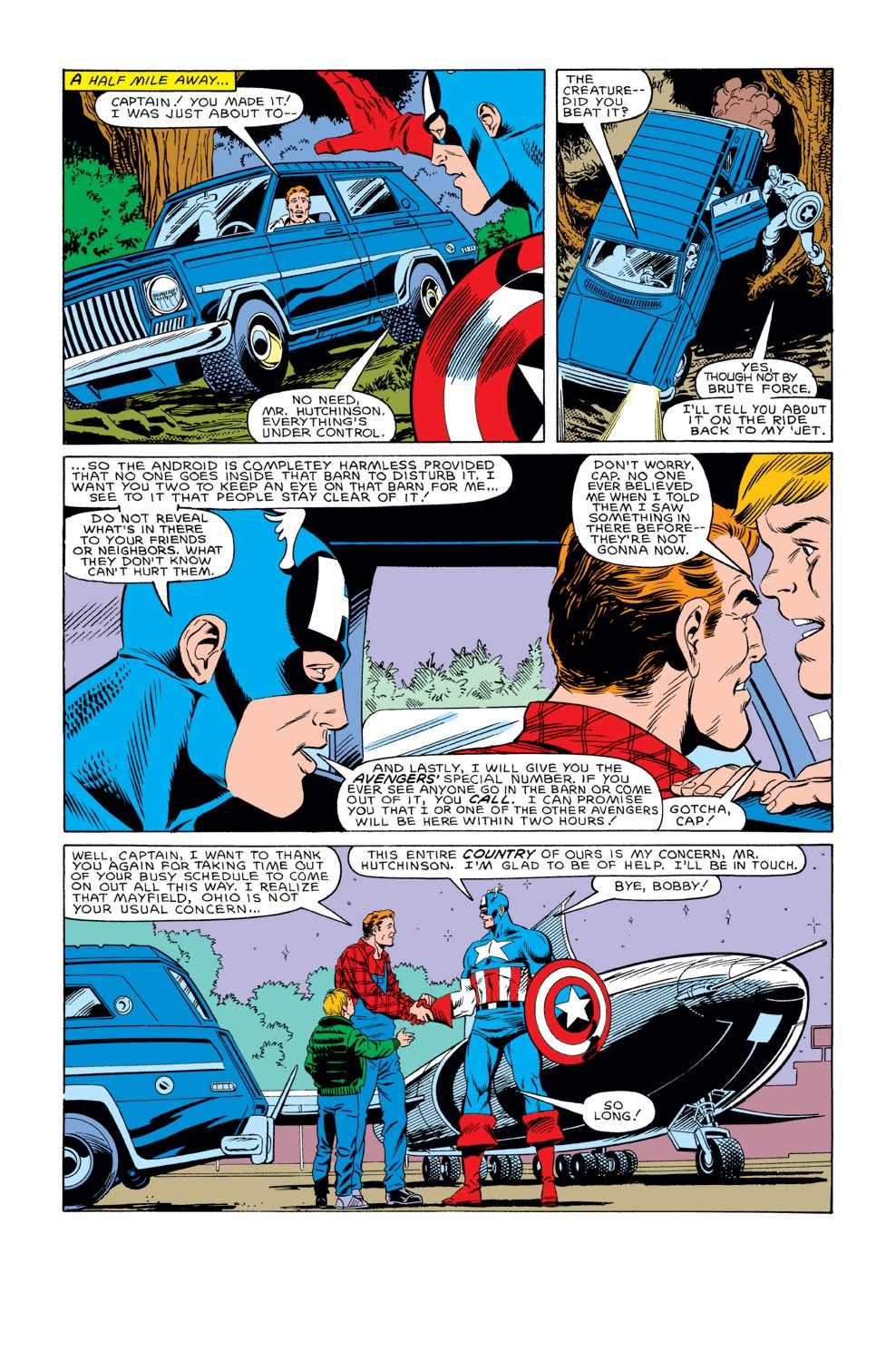 Captain America (1968) Issue #311 #239 - English 22
