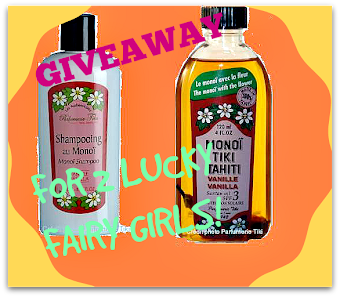 Giveaway with All About Eve and Monoi Tiki!