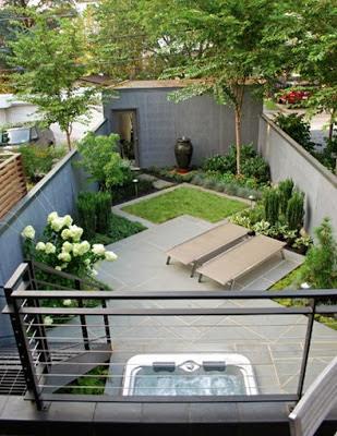 Dise os de patios peque os encantadores patios y jardines for Jardines en patios pequenos