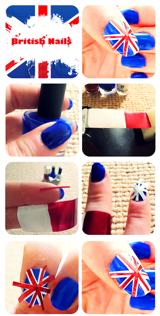 Nb likes british nail art using scotch tape buy some tape on a dispenser scotch tape or magic tape seem to be the best its not too clear or too thick comes on a dispenser and i know it worked for prinsesfo Image collections