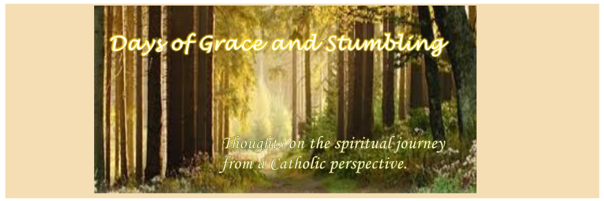 Days of Grace and Stumbling