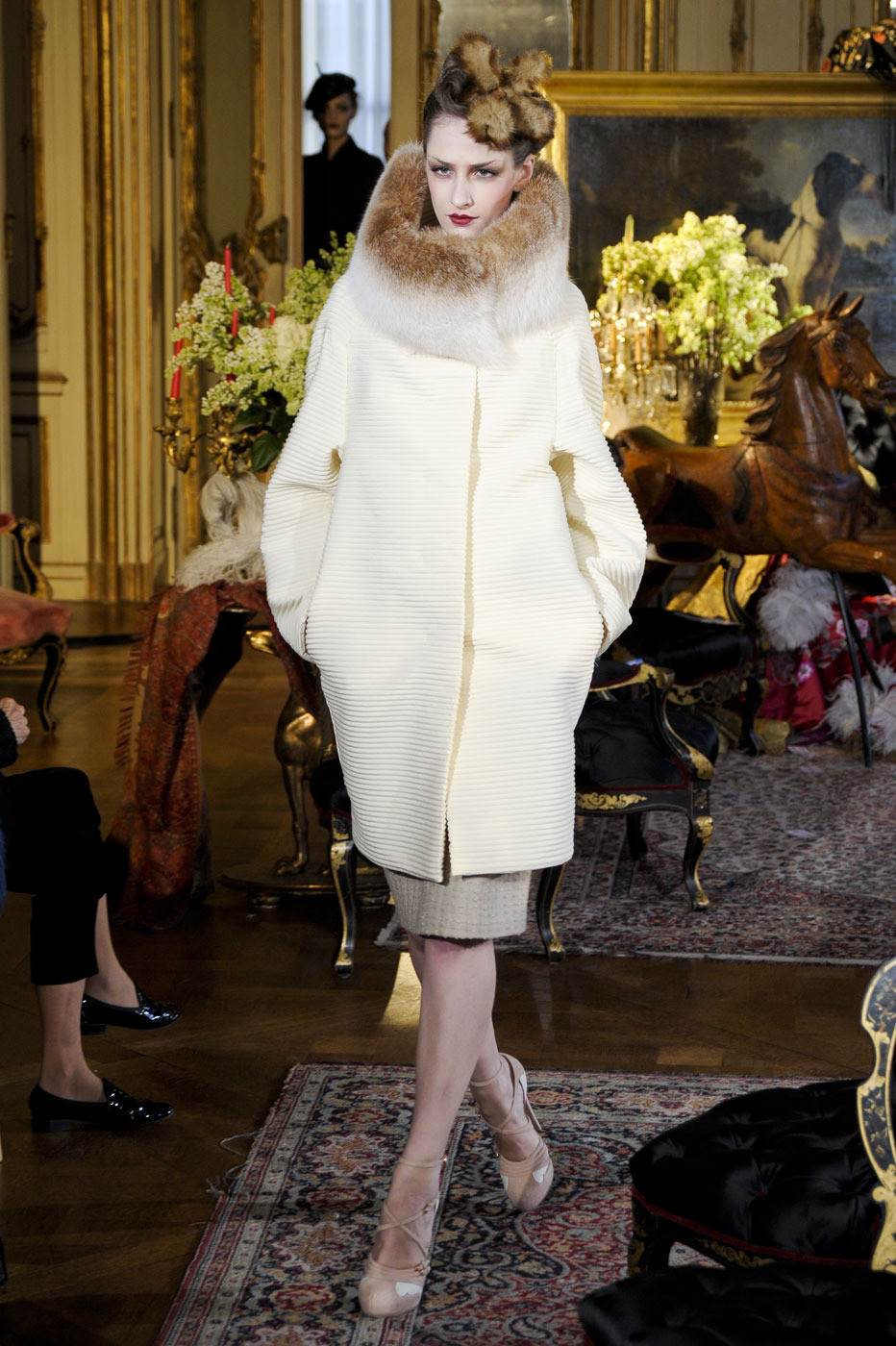 via fashioned by love | John Galliano for John Galliano Fall/Winter 2011