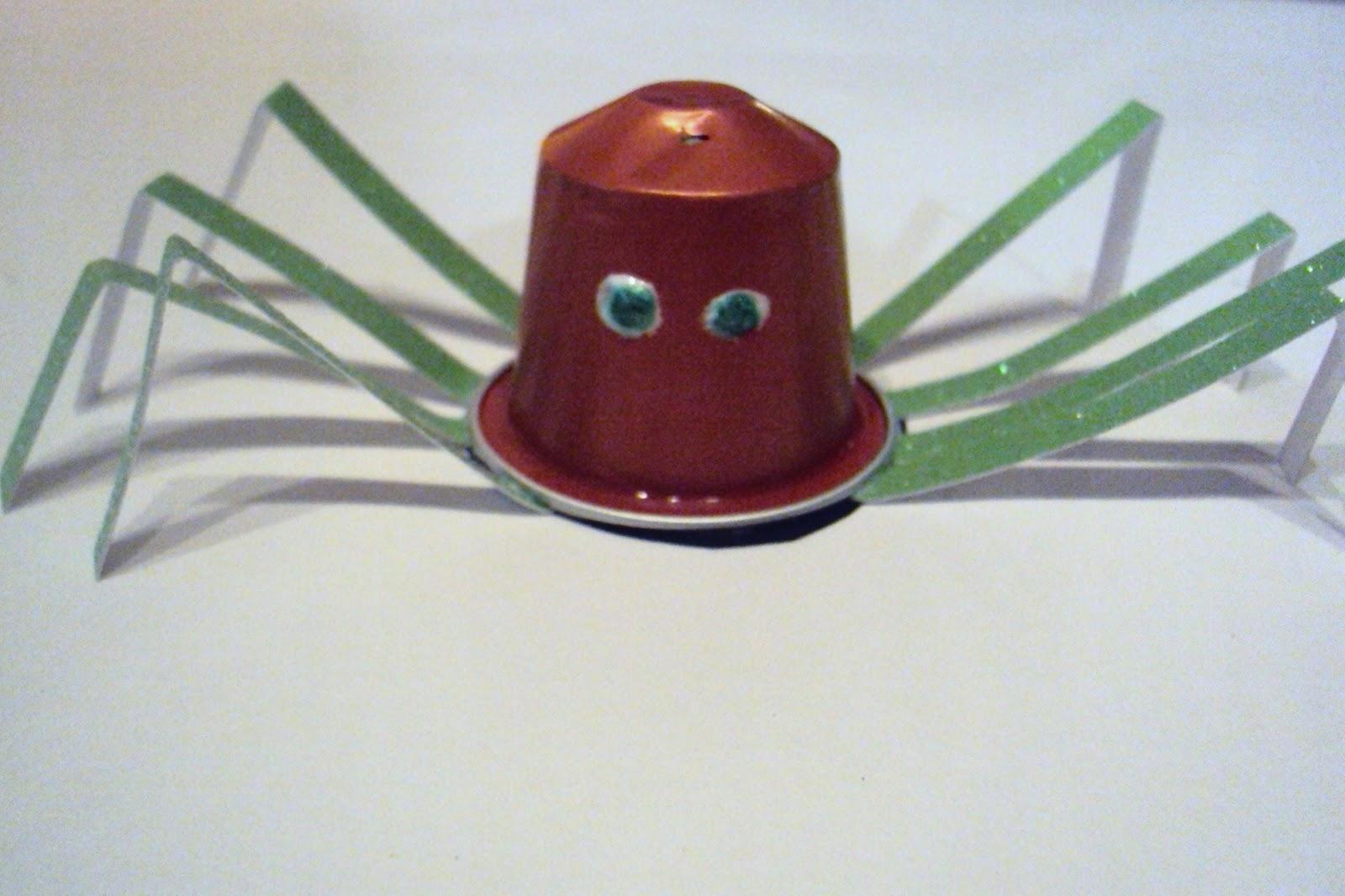 Favorit info-garderie: Trois bricos d'halloween avec les capsules Nespresso AZ18